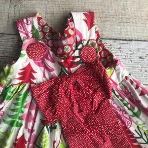 Jelly The Pug Dresses - Jelly The Pug Christmas Dress 3t